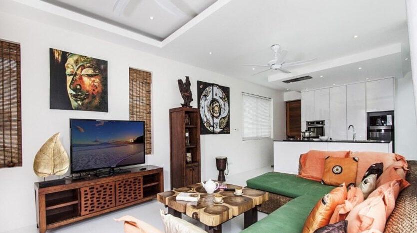 Moderní vila kousek od pláže, Koh Samui